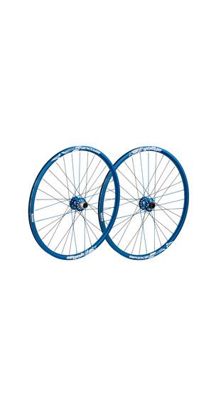 Spank Spike Race28 EVO LRS 20mm + 12/135mm blue